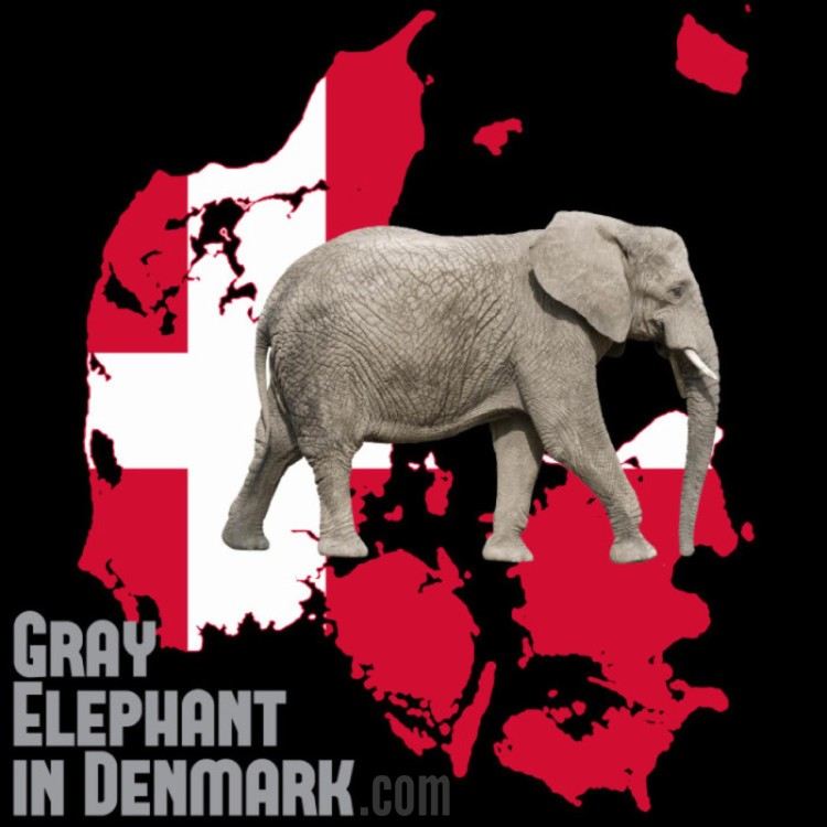 gray-elephant-in-denmark