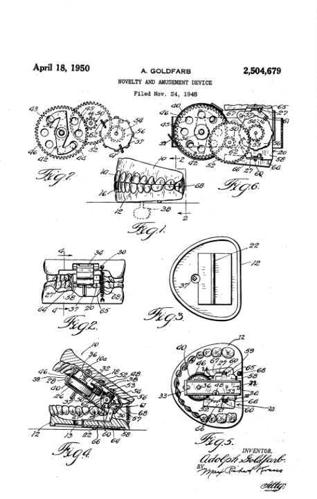 chatter teeth patent